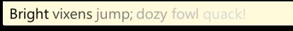 TextVaryingIntensity